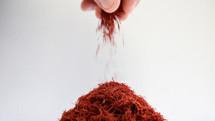 Export price of saffron
